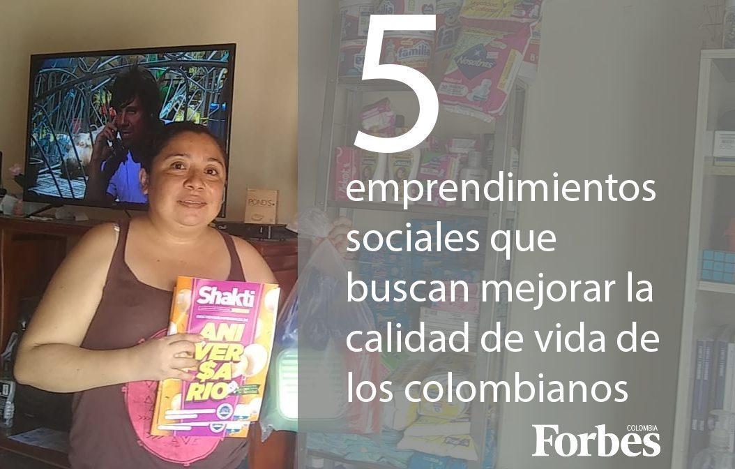Elepha dentro de los cinco emprendimientos sociales que buscan mejorar la calidad de vida de los colombianos